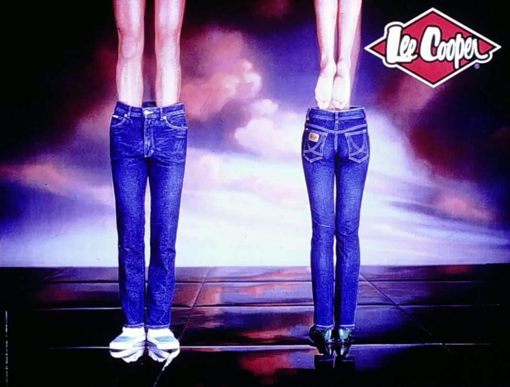 Publicité jeans Lee Cooper