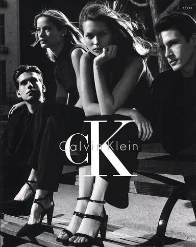 Publicité jeans Calvin Klein