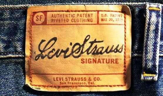 Publicité jeans levi's