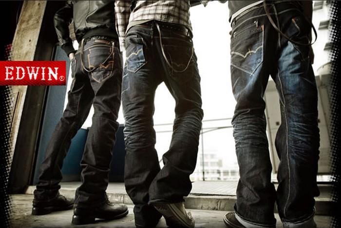 edwin jeans marque de denim japonais le jeans homme. Black Bedroom Furniture Sets. Home Design Ideas