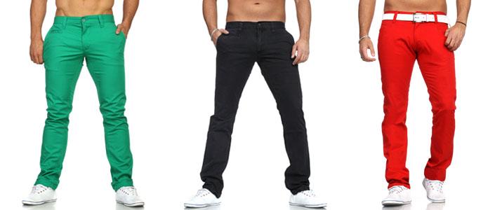 Les jeans et pantalons de couleurs la mode - Les couleurs a la mode ...