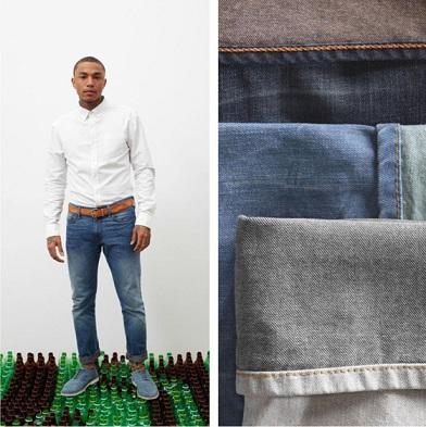 Jeans en plastique par Levi's?